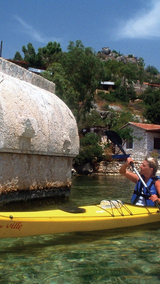 Kas Canor Tour Blended With History