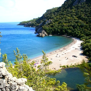 View of Olympos from above.