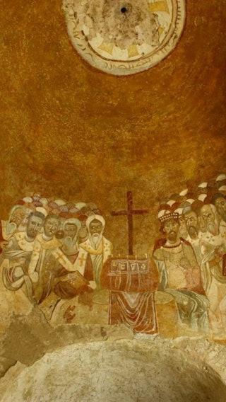 Wall Paintings from Saint Nicholas Church