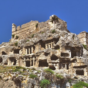 Ancient city of Tlos, Xsantos